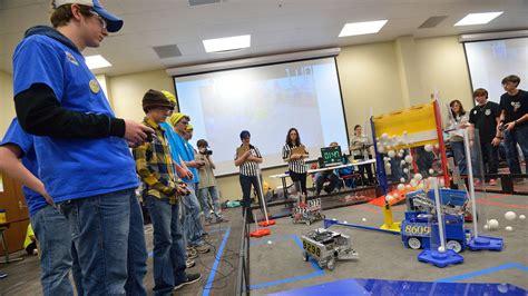 Um Flint Sponsored Robotics Team by Um Hosts Statewide Robotics Competition Ole Miss News