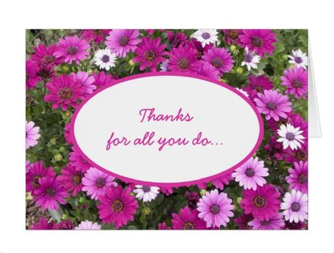 employee thank you card template printable thank you cards free sle exle format
