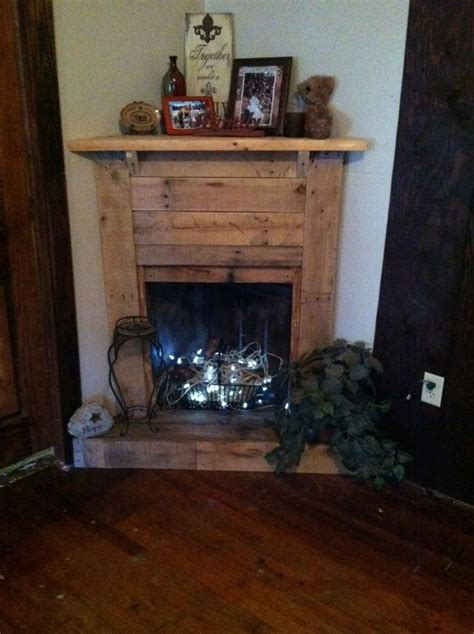 Faux Corner Fireplace Ideas by Living Rooms Fireplaces And Pallet Fireplace On