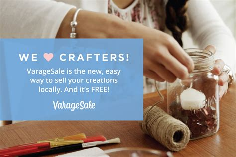 Websites To Sell Handmade Items For Free - varage sale place to sell handmade crafts sell crafts