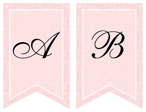 templates for baby shower banners free printable bridal shower banner vow renewal