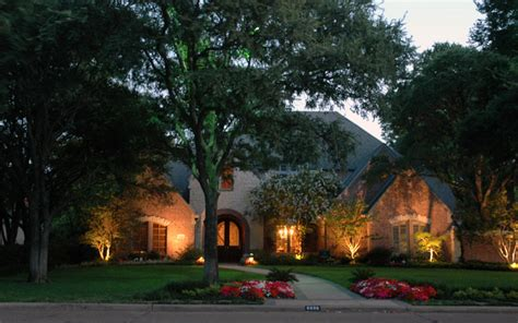 dallas exterior lighting security lights dallas