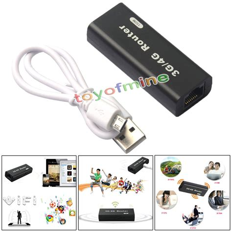 Usb Wireless Router mini portable 3g 4g wifi wlan hotspot ap client 150mbps