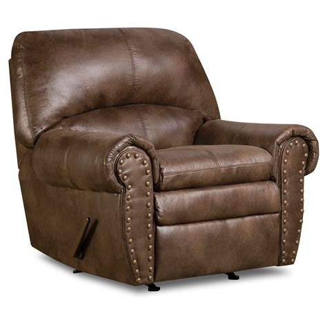 simmons recliner chairs simmons upholstery padre rocker recliner espresso