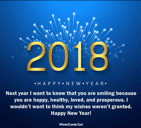 healthy new year quotes 3d style happy new year 2018 quote image happy new