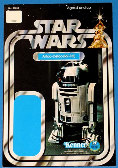 Wars Figure Card Template by Wars 12 Back R2 D2 Proof Card Wars Collectors