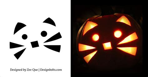 easy  simple halloween pumpkin carving patterns