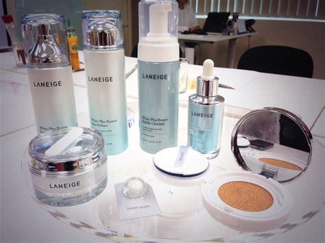 Produk Kecantikan Laneige review produk rangkaian produk pemutihan dari korea