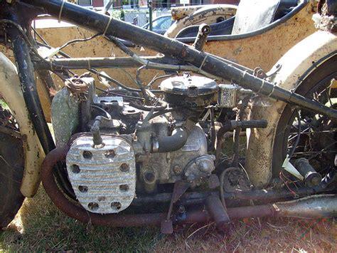 Ural Motorrad Motor ural m72 gespann restauration kradblatt