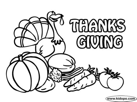give thanks coloring page