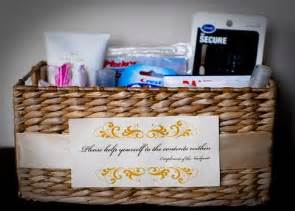 wedding bathroom basket ideas ally in wedding wonderland bathroom baskets for guests