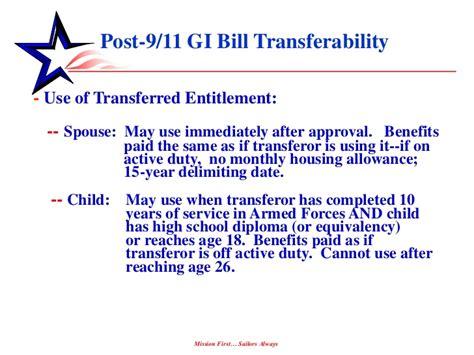 post 9 11 gi bill housing allowance post 911 gi bill by barbara miller
