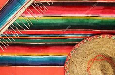 tappeti messicani mexique poncho serape tapis couverture sombrero