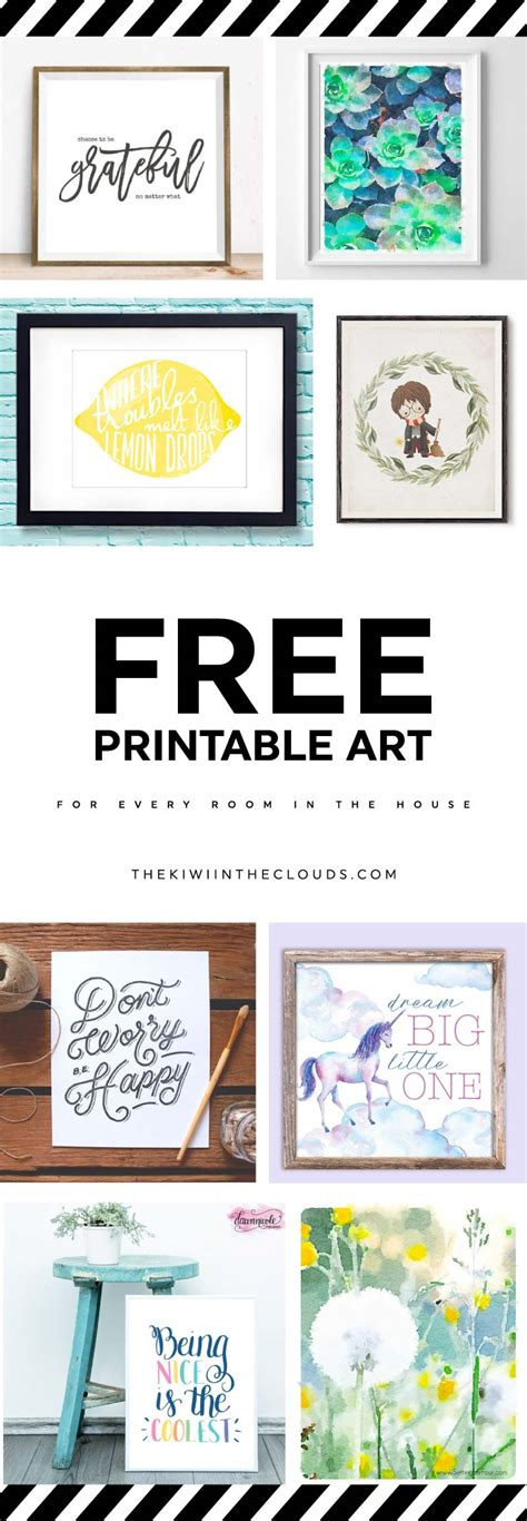free download printable wall art 21 free printable art prints to quickly decorate the
