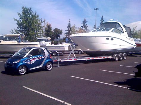 tow over boat anyone ever pulled over for overloaded tow vehicle page