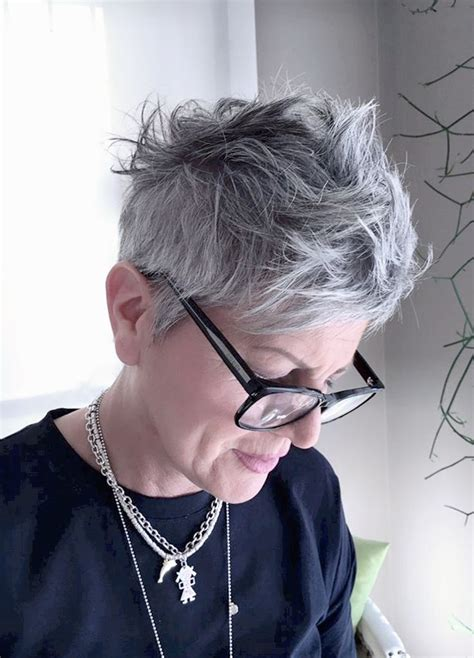 attractive eyeglasses for graying hair 1717 best 50 shades of grey hair beautiful images on
