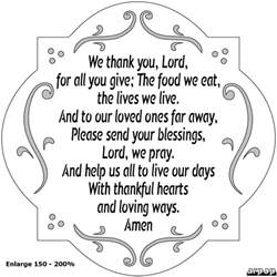 we thank you lord more than sayings