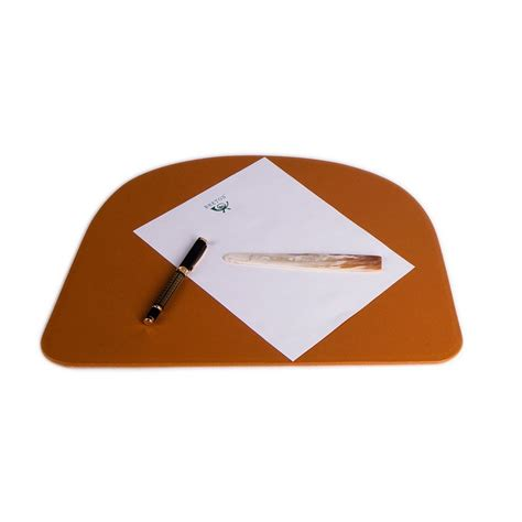 Small Desk Pad Leather Desk Pad Trapezium Small Leather Desk Pad Absolute Breton
