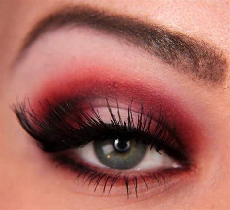 eyeshadow tutorial red makeup your jangsara tutorial red rebel