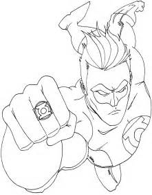 green coloring pages free printable green lantern coloring pages for
