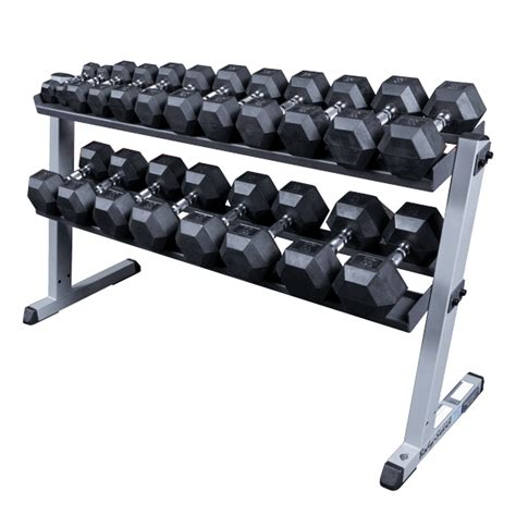 Solid Dumbbell Rack by Solid Gdr60 2 Tier Dumbbell Rack Fitness Factory Outlet