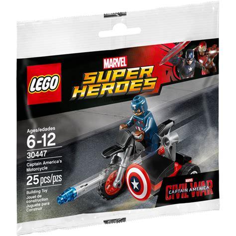 Lego 30447 Captain Amerika lego captain america s motorcycle set 30447 brick owl lego marketplace