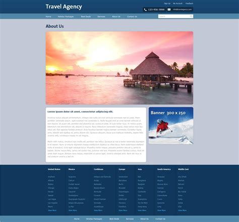 tourism templates free free travel agency website template travel website