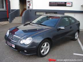 mercedes coupe sport classe c 220 cdi occasion nancy