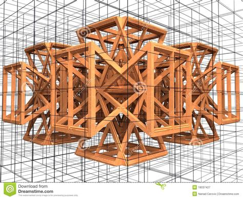 imagenes urbanas abstractas construcciones de madera urbanas abstractas 03