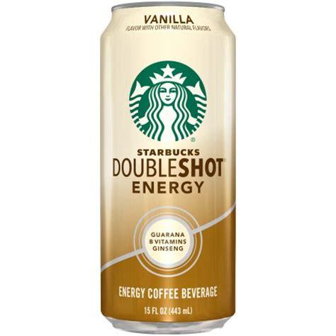 energy drink 8 oz can starbucks 174 doubleshot 174 energy vanilla energy coffee