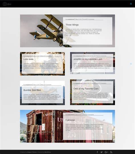 blog layout divi divi plugin highlight divi blog extras elegant themes blog