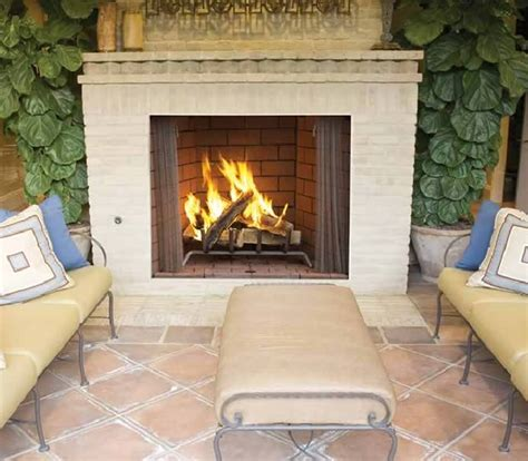 42 quot large outdoor wood fireplace by superior fine s gas