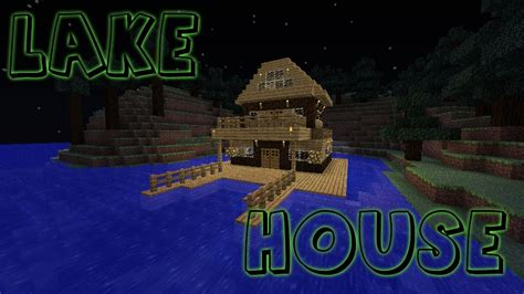 minecraft lake house lake house with speed build minecraft project