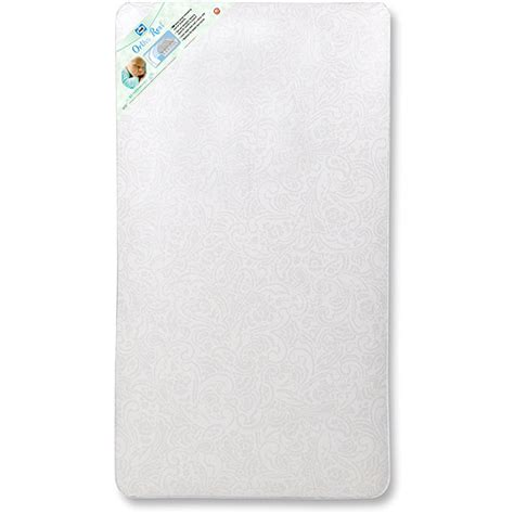 walmart crib mattress sealy baby ortho rest crib and toddler mattress