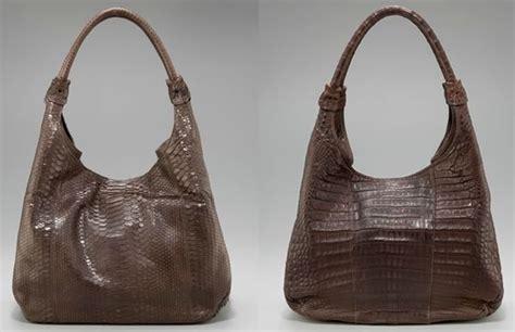 Handbag Find Of The Day Carlos Falchi by Carlos Falchi Hobo Python Vs Croc Purseblog