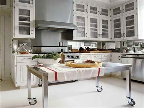 stainless steel kitchen island on wheels 28 made of metal kitchen islands rolling kitchen