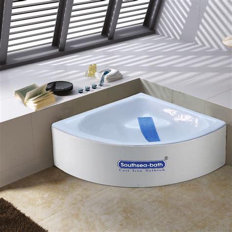 cast iron corner bathtub cheap small corner bathtub 1000mm cast iron bath tub