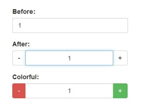 Css Bootstrap Input Append Not Width Of user friendly number input spinner with jquery and