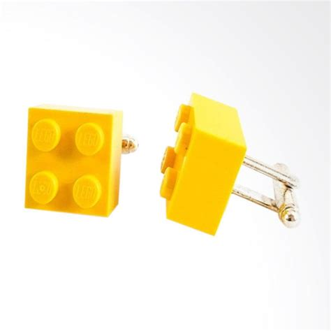 Cufflink Cufflinks Manset Kancing Kemeja Cuff jual houseofcuff lego manset kancing kemeja cufflinks yellow harga kualitas