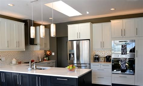 Decorating Kitchen Cabinets Grimslov Ikea White And Grey Kitchens Contemporary