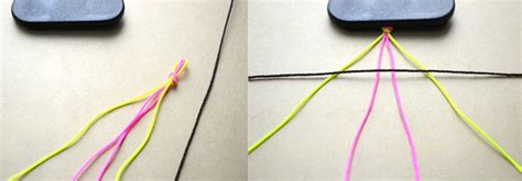 How To Create String - how to make diy 6 string braided friendship bracelet