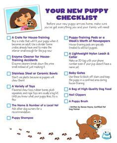 getting a puppy checklist new puppy checklist up what you need at caninestyles new puppy