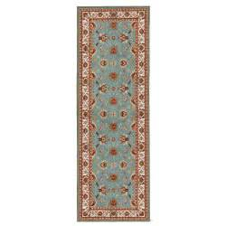 ottomanson prestige collection traditional teal 2