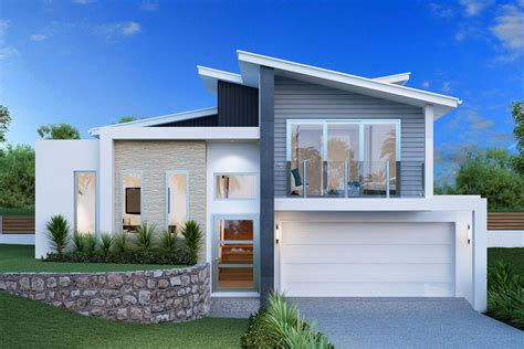 design at home spacious sloping block house designs geelong split level
