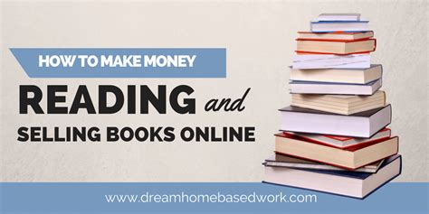 Make Money Selling Books Online - how to make money selling and reading books online