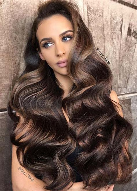 what s the best hair color for dark skin top 10 dark hair colors for 2017 page 2 best hair