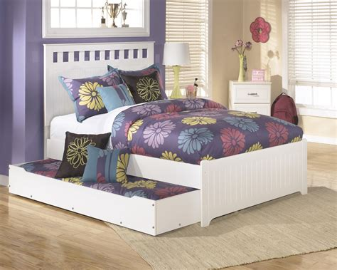 trundle bedroom sets trundle bed frame bed signature b102 60 signature by ashley lulu trundle under bed storage