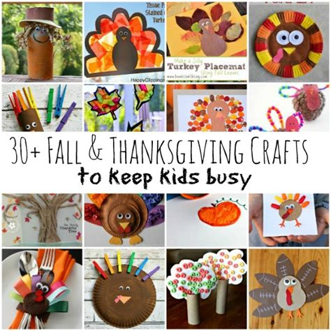 30 Fall Thanksgiving Crafts To Keep Busy Wait