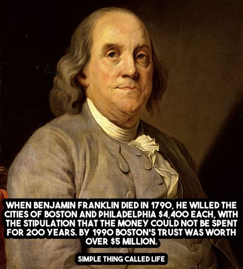 biography facts about benjamin franklin how benjamin franklin turned 4 400 into 5 million