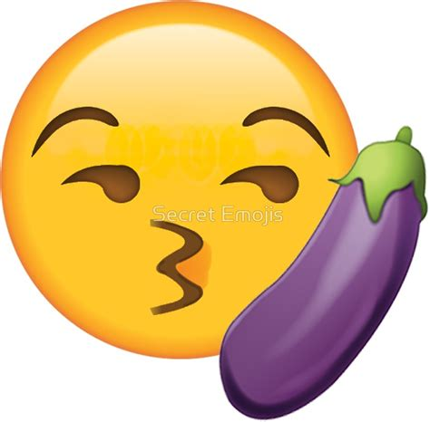 Meme Emoji - pegatinas 171 kissy eggplant secret emoji funny internet